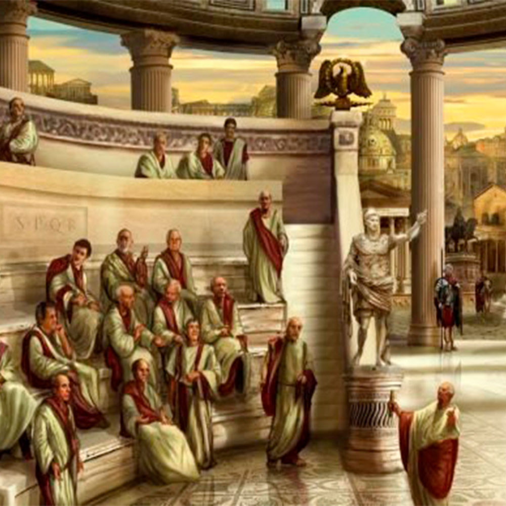 historia de la cerveza en Roma