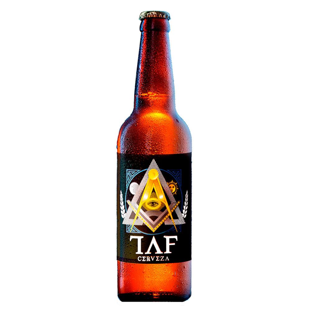 Cerveza TAF   Sabor Inmortal